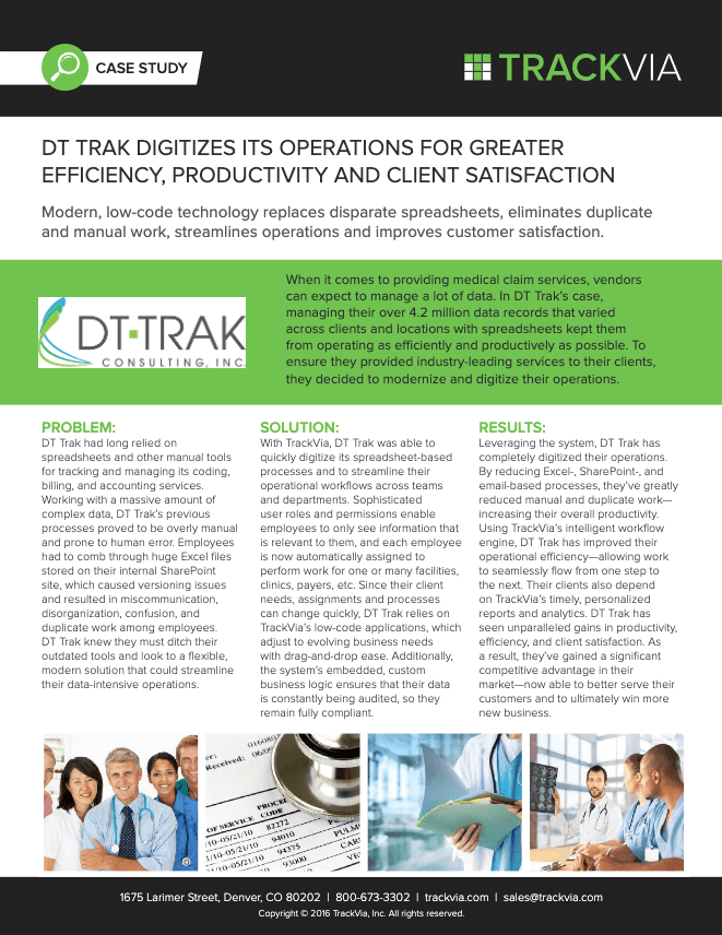 DT Trak Digitizes Operations